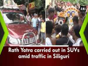 Rath Yatra carried out in SUVs amid traffic in Siliguri [Video]