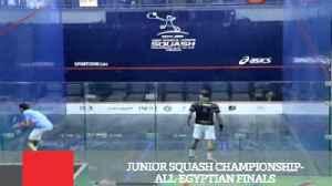 Junior Squash Championship  All Egyptian Finals [Video]