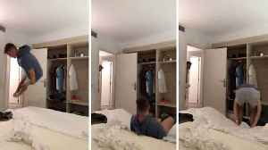 Broken bed – video shows hilarious bed fail [Video]