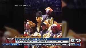 As district deals with graduating more students, program proves to cut dropout rate [Video]