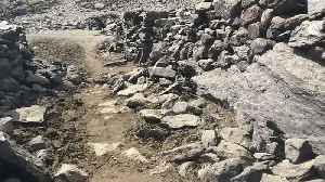 Ruins of former village revealed in Cumbria as heatwave continues to scorch UK [Video]