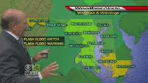Flash Flood Watch In Effect In Most Of Maryland