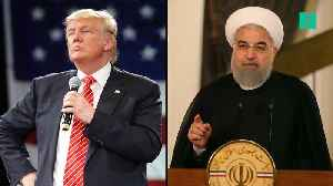 "Trump To Iranian President Rouhani : ""Be Cautious"" [Video]"