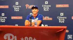 VIDEO: Chase Utley press conference [Video]