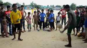 World Cup fever still raging in Rohingya refugee camps [Video]