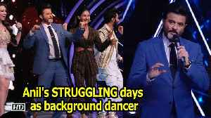 Anil Kapoor remember STRUGGLING days as background dancer [Video]