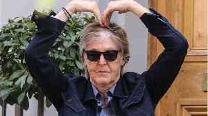 Paul McCartney Crosses Abbey Road For 49th Anniversary [Video]