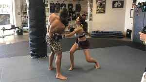 Farrah Abraham Training for Celebrity Boxing With Jeremy Jackson [Video]