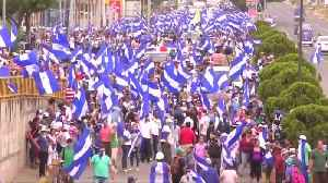 Nicaraguan students take to the streets to oppose government [Video]