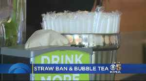Without Alternatives, Plastic Straw Ban Will Harm Bubble Tea Shops [Video]