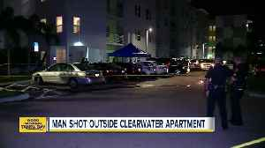 News video: Man shot at downtown Clearwater apartment