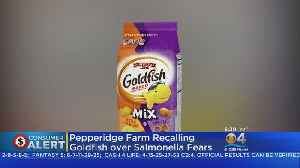 4 Types Of Goldfish Crackers Recalled Over Salmonella Fears [Video]