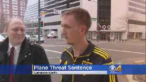 Man Sentenced To 18 Months In Prison For Plane Bomb Threat [Video]