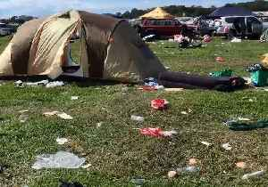 Garbage Strewn Across Byron Bay in 'Splendour in the Grass' Aftermath [Video]