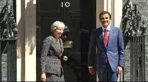 Qatar's emir in London for talks with British prime minister [Video]
