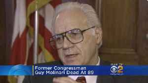 Former Congressman Guy Molinari Dead At 89 [Video]