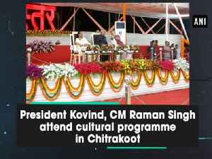 President Kovind, CM Raman Singh attend cultural programme in Chitrakoot [Video]