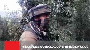 Terrorist Gunned Down In Handwara [Video]