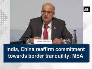 India, China reaffirm commitment towards border tranquility: MEA [Video]