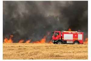 Fires Caused by Kites Launched from Gaza Damage Agriculture Fields (File) [Video]