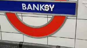 Lego Artist Makes a 'Banksy of Banksy' in London Underground Station [Video]