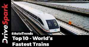 Fastest Trains In The World - Bullet Train Top Speeds Challenge Supercars - DriveSpark [Video]