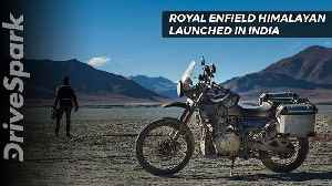 Royal Enfield Himalayan Launch, Specs, Features - DriveSpark [Video]