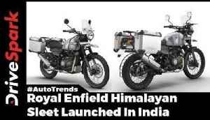 Royal Enfield Himalayan Sleet Launched In India : Royal Enfield Special Edition - DriveSpark [Video]