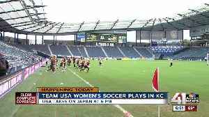 Tournament of Nations opens at Children's Mercy Park with U.S. Women's National Team vs. Japan [Video]