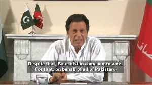 Pakistan's Imran Khan declares victory as rivals cry foul [Video]