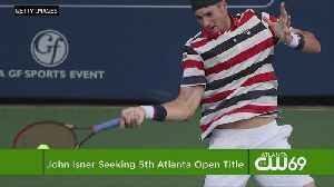 John Isner Opens With Win In Bid For 5th Atlanta Open Title [Video]