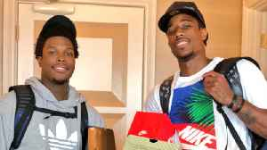 DeMar DeRozan REUNITES with Kyle Lowry and THIS Happened! [Video]