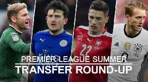 News video: Premier League transfer round-up: Man United make Maguire approach