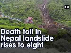 Death toll in Nepal landslide rises to eight [Video]