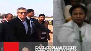 Omar Abdullah To Meet Mamata Banerjee Today [Video]