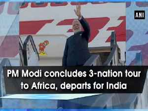 PM Modi concludes 3-nation tour to Africa, departs for India [Video]