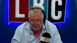Nick Ferrari's Hilarious Counter Protest To The Trump Baby [Video]