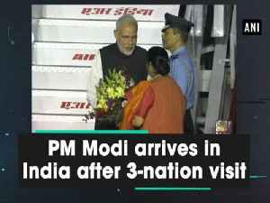 PM Modi arrives in India after 3-nation visit [Video]