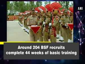 Around 204 BSF recruits complete 44 weeks of basic training [Video]