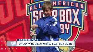 OP boy wins world soap box derby championship [Video]