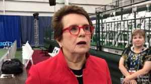 Billie Jean King, Taylor Townsend and Sloane Stephens on tennis in Chicago [Video]