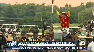 Justify to parade one last time before retiring [Video]