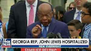 Rep. John Lewis Hospitalized For 'Routine Observation' [Video]
