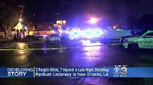 3 People Killed, 7 Injured In Late Night Shooting In New Orleans [Video]