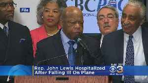 Rep. John Lewis To Be Released From Hospital After Falling Ill On Plane [Video]