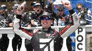 Kyle Busch Wins Pocono NASCAR [Video]