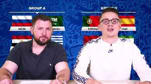 WORLD CUP 2018 Group A & B Preview  | Spain, Egypt, Portugal & Russia [Video]