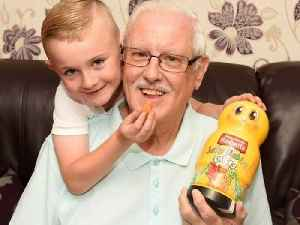 Brave six-year-old saves great grandad's life – by feeding him jelly babies [Video]