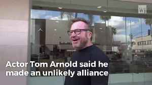 Tom Arnold Teams Up With Cohen We're 'Taking Trump Down' [Video]