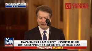 Kavanaugh's Hilarious Opening Jokes Prove Just How Much He Loves His Family [Video]